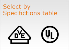 Select by Specifictions table